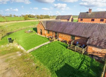 Thumbnail 3 bed barn conversion for sale in High Trees Farm, Hobb Lane, Uttoxeter