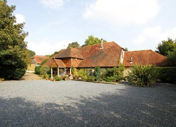 Thumbnail 6 bedroom barn conversion for sale in Turnpike Road, Rackham, Pulborough, West Sussex