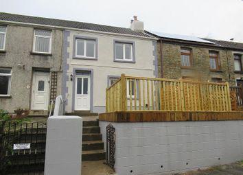 3 bed terraced house for sale in Greenfield Terrace, Llangynwyd, Maesteg, Bridgend. CF34