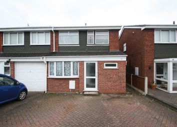 Thumbnail 3 bed semi-detached house to rent in Brookside, Birmingham