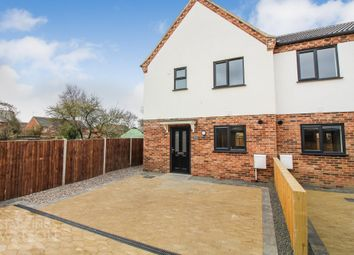 Thumbnail 3 bed end terrace house for sale in Rumbold Close, Southtown Road, Great Yarmouth