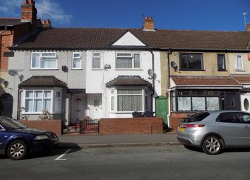 Thumbnail 3 bed terraced house for sale in Newton Road, Sparkhill, Birmingham