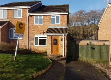 Thumbnail 3 bed semi-detached house for sale in Coniston Road, Ogwell, Newton Abbot