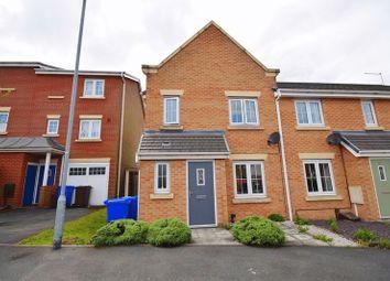 Thumbnail 3 bed terraced house for sale in Darwin Drive, Burslem, Stoke-On-Trent
