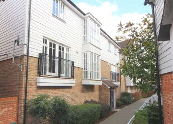 Thumbnail 2 bed flat for sale in Ames Way, Kings Hill