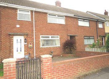 Thumbnail 3 bed terraced house for sale in Porrett Close, Hartlepool
