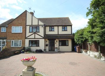 Thumbnail 4 bed semi-detached house for sale in Church Lane, Bulphan, Upminster