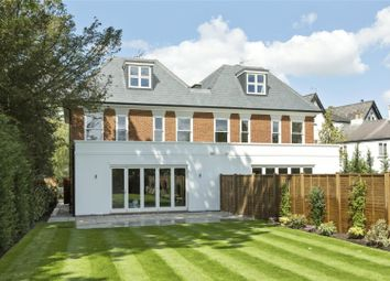 Thumbnail 5 bed semi-detached house for sale in Oatlands Drive, Weybridge, Surrey
