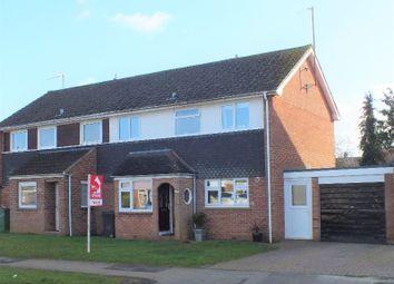 Thumbnail 3 bed semi-detached house for sale in Charlbury Road, Shrivenham, Swindon