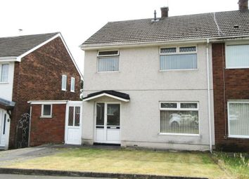 Thumbnail 3 bed semi-detached house to rent in Gorsedd, Llanelli, Carmarthenshire.