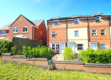 Thumbnail 3 bed town house for sale in Foxglove Way, Oadby, Leicester