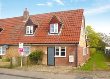 Thumbnail 3 bed semi-detached house for sale in Church Road, West Row, Bury St. Edmunds