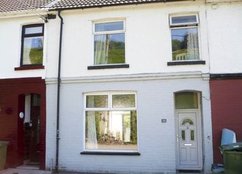 Thumbnail 4 bedroom terraced house for sale in Coedely -, Porth
