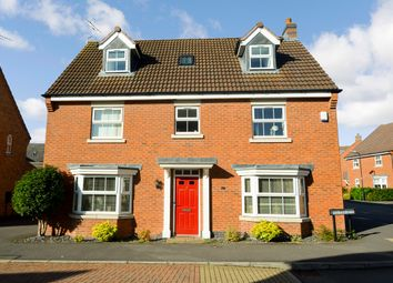 Thumbnail 6 bed detached house for sale in Two Pike Leys, Coton Park, Rugby