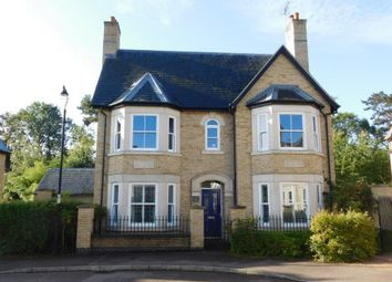 Thumbnail 4 bed detached house for sale in Fleming Drive, Fairfield, Stotfold, Herts