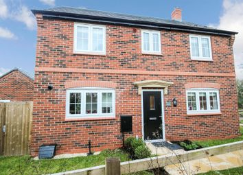 Thumbnail 3 bed detached house for sale in Mulberry Way, Rothley, Leicester