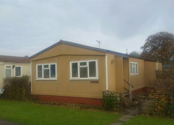 Thumbnail 2 bed mobile/park home for sale in Heath Farm Park, Barford St. Martin, Salisbury