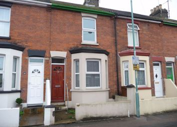 Thumbnail 3 bed terraced house to rent in St Johns Road, Gillingham, Kent