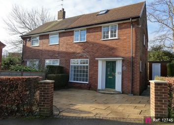 Thumbnail 3 bed semi-detached house for sale in Sandringham Green, Moortown, Leeds