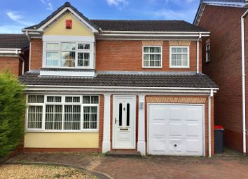 Thumbnail 4 bed detached house for sale in Sandpiper Close, Apley, Telford