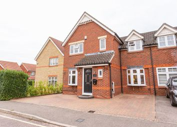 Thumbnail 3 bed semi-detached house for sale in Swallow Close, Rayleigh