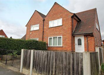 Thumbnail 3 bedroom semi-detached house for sale in Linton Rise, Nottingham