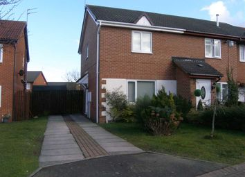 Thumbnail 2 bed semi-detached house to rent in Denholm Avenue, Hartford Dale, Cramlington
