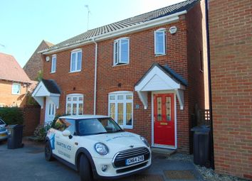 Thumbnail 2 bed semi-detached house to rent in Blue Field, Singleton, Ashford