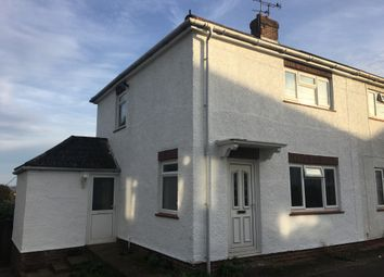 Thumbnail 2 bed semi-detached house for sale in Valley Road, Crewkerne
