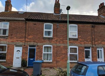 Thumbnail 3 bed terraced house to rent in Central Road, Leiston, Suffolk