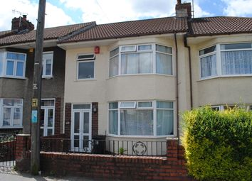 Thumbnail 3 bed terraced house to rent in Sylvia Avenue, Knowle, Bristol