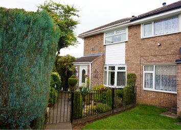 Thumbnail 2 bed end terrace house for sale in Boughton Close, Sutton-In-Ashfield