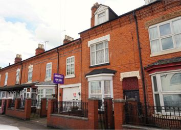 Thumbnail 5 bed terraced house for sale in Overton Road, Leicester