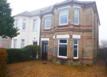 Thumbnail 3 bedroom semi-detached house to rent in Ashley Road, Poole