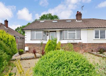 Thumbnail 4 bed bungalow for sale in Parham Road, Findon Valley, Worthing, West Sussex