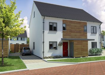 Thumbnail 3 bed semi-detached house for sale in Gerbera Way, Cullompton