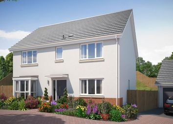 Thumbnail 4 bed detached house for sale in The Ribsden Saxon Way, Kingsteignton, Newton Abbot