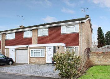 Thumbnail 3 bedroom end terrace house for sale in Loddon Road, Farnborough