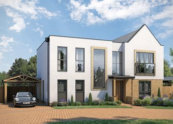 "Thumbnail 4 bed property for sale in ""The Savernake A"" at Atlas Way, Milton Keynes"