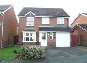 Thumbnail 4 bed detached house for sale in Teasel Road, Wednesfield, Wednesfield