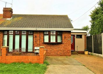 Thumbnail 2 bed semi-detached bungalow for sale in Wamburg Road, Canvey Island, Essex