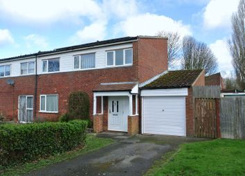 Thumbnail 3 bed semi-detached house for sale in Freeman Close, Greenleys, Milton Keynes