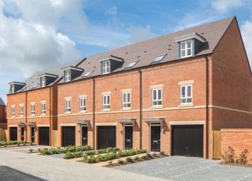 "Thumbnail 3 bed terraced house for sale in ""Hinton"" at Racecourse Road, Newbury"