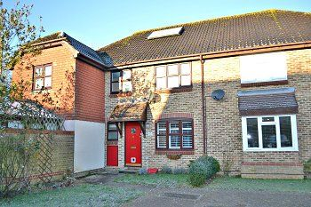 Thumbnail 3 bed terraced house to rent in Wordsworth Place, Horsham, West Sussex