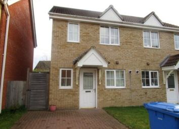 Thumbnail 3 bed semi-detached house to rent in Tizzick Close, Norwich
