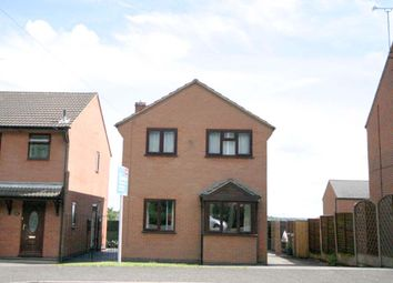 Thumbnail 3 bed detached house to rent in Common Road, Church Gresley, Swadlincote
