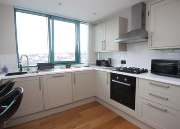 Thumbnail 2 bed flat to rent in The Crescent, Plymouth