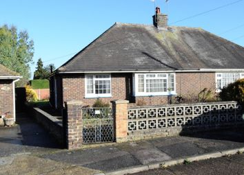 Thumbnail 2 bed semi-detached bungalow for sale in Mierscourt Close, Rainham, Gillingham