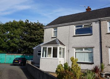 Thumbnail 3 bed semi-detached house for sale in Pen Y Ffridd Road, Bangor