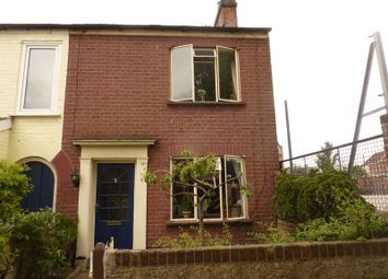 Thumbnail 2 bedroom terraced house to rent in West End Street, Norwich